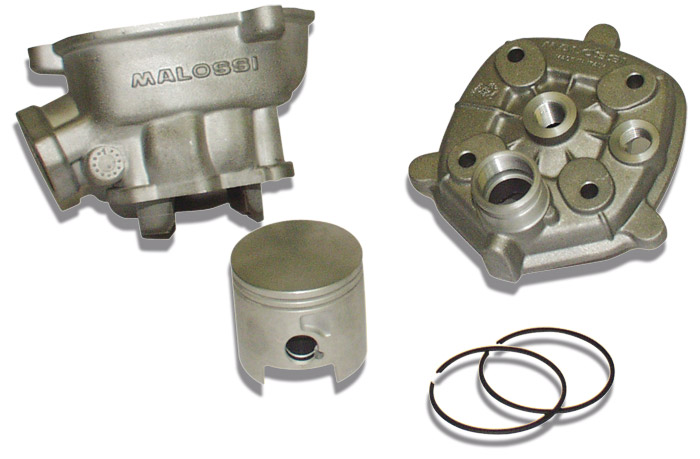 【MALOSSI】汽缸+汽缸頭套件 pin12mm / 50Φ 活塞 - 「Webike-摩托百貨」
