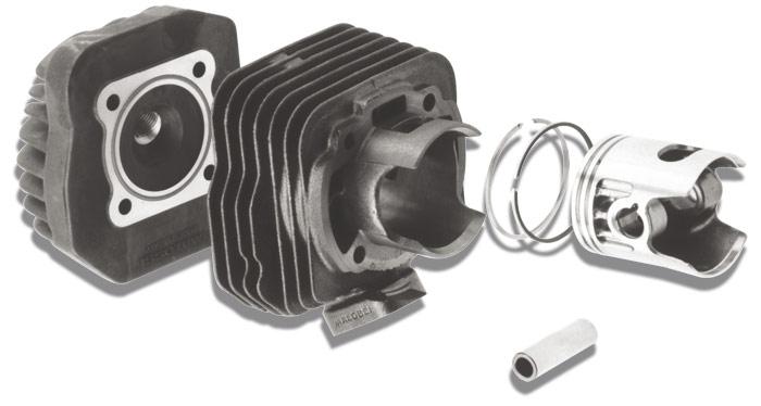 【MALOSSI】汽缸+汽缸頭套件 pin12mm - 「Webike-摩托百貨」