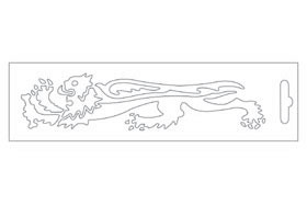 【MALOSSI】白色・Lion16.6cm左側 貼紙 - 「Webike-摩托百貨」