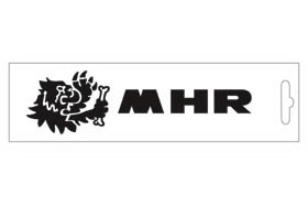 【MALOSSI】黑色・MHR Logo 16.6cm 貼紙 - 「Webike-摩托百貨」