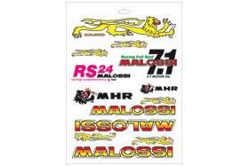 【MALOSSI】Folder 貼紙 - 「Webike-摩托百貨」