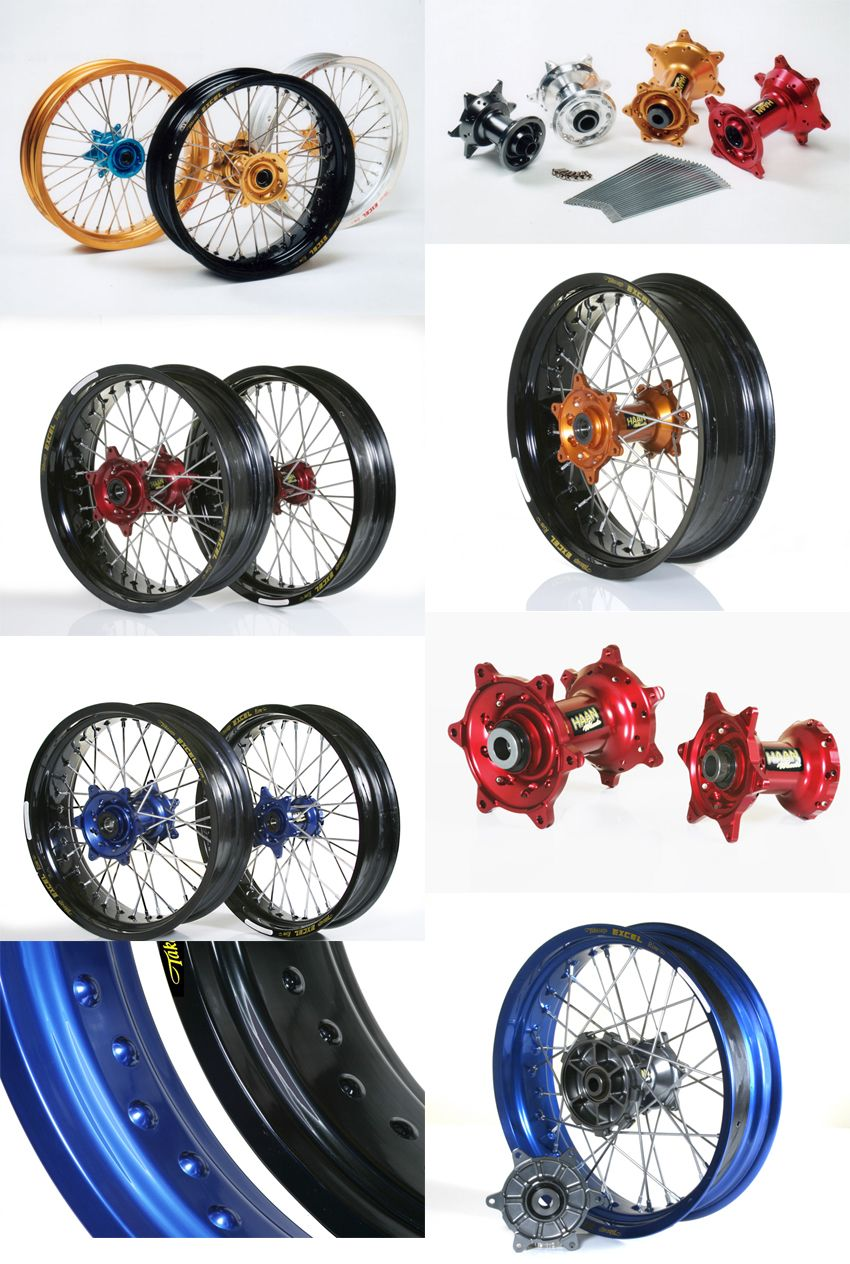 【HAAN WHEELS】前完整輪框套件 - 「Webike-摩托百貨」