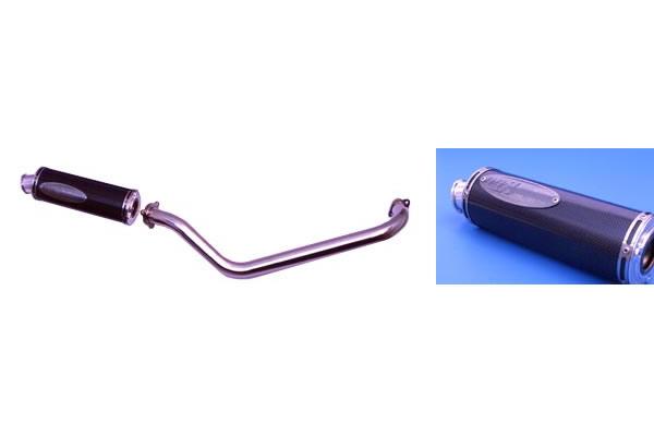 【TTS】碳纖維全段排氣管 Type 1 - 「Webike-摩托百貨」