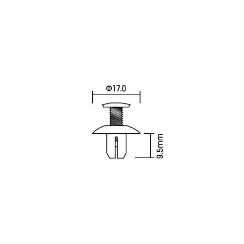 【amon】螺絲型固定扣 - 「Webike-摩托百貨」
