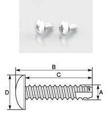 【K-CON】方向燈和車身外裝用螺絲 (4×10mm) - 「Webike-摩托百貨」