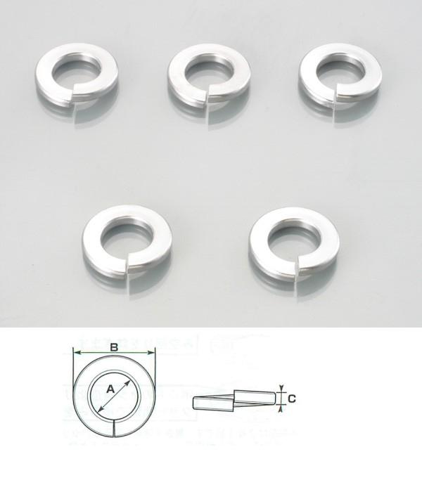【K-CON】彈簧墊片(不鏽鋼) - 「Webike-摩托百貨」
