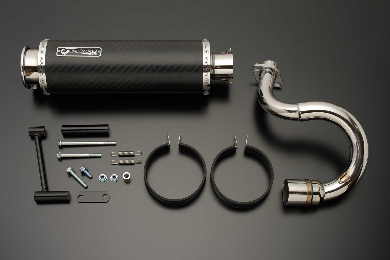 【GRONDEMENT】SPIRAL BEET 4 鈦合金全段排氣管 - 「Webike-摩托百貨」