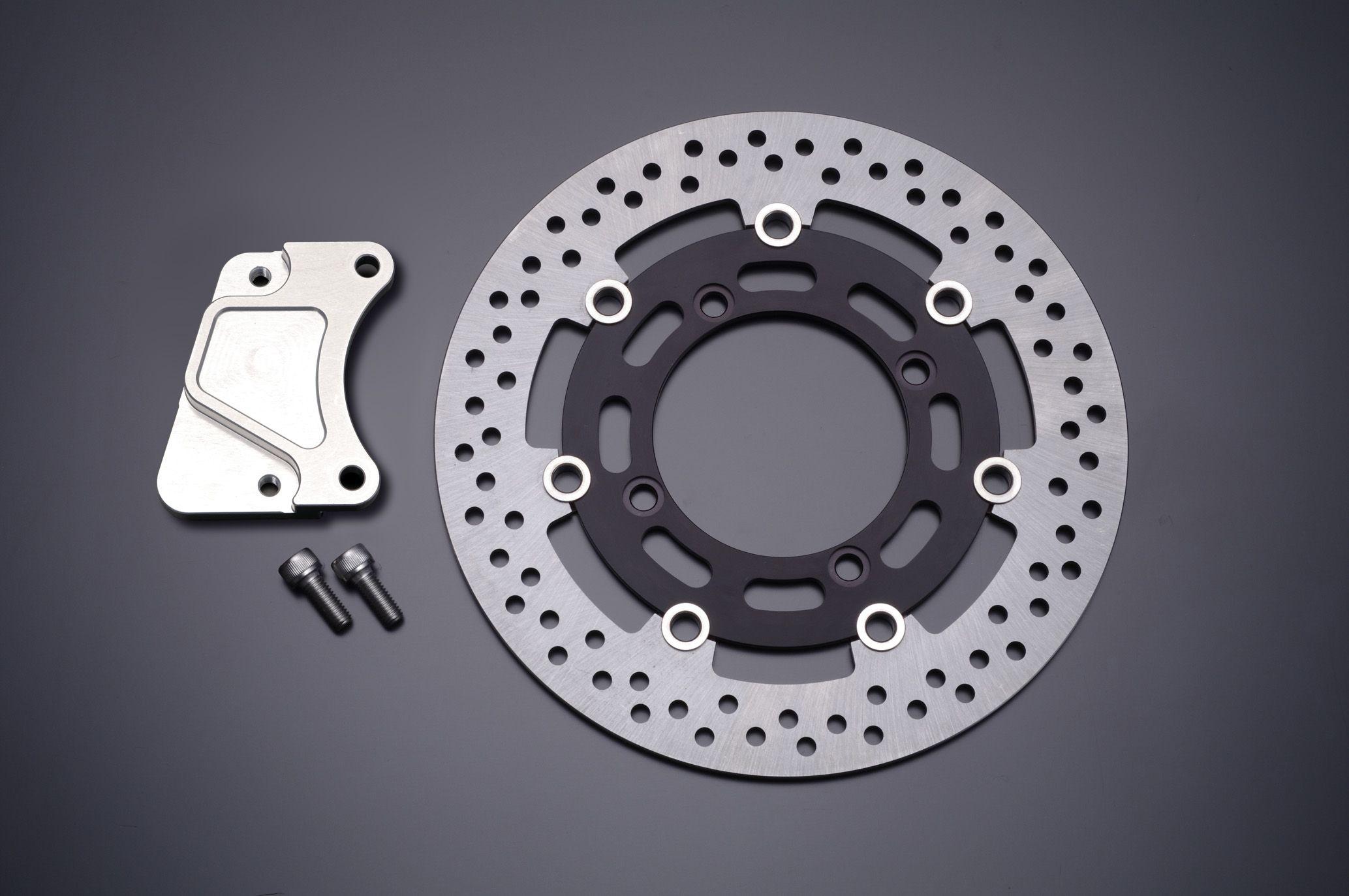 【GRONDEMENT】Φ285 煞車碟盤套件 一般型卡鉗用 (黑色) - 「Webike-摩托百貨」
