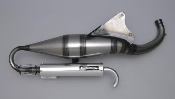 【GRONDEMENT】SPIRAL BEET 2 膨脹室排氣管 (Euro Type) - 「Webike-摩托百貨」