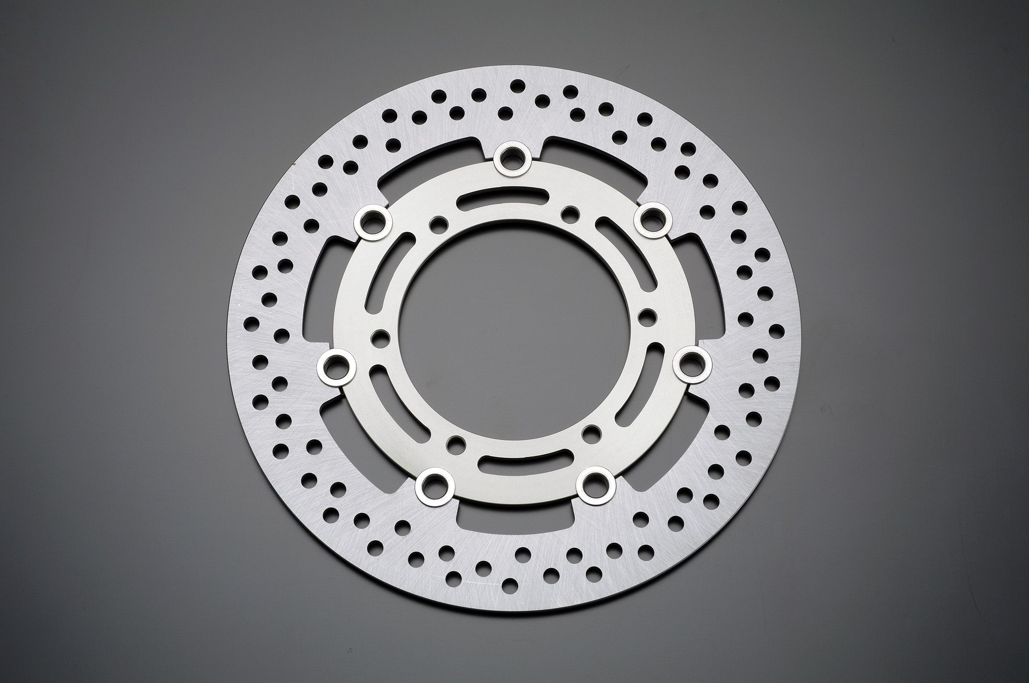 【GRONDEMENT】Φ285 煞車碟盤 (銀色) 套件専用品 - 「Webike-摩托百貨」