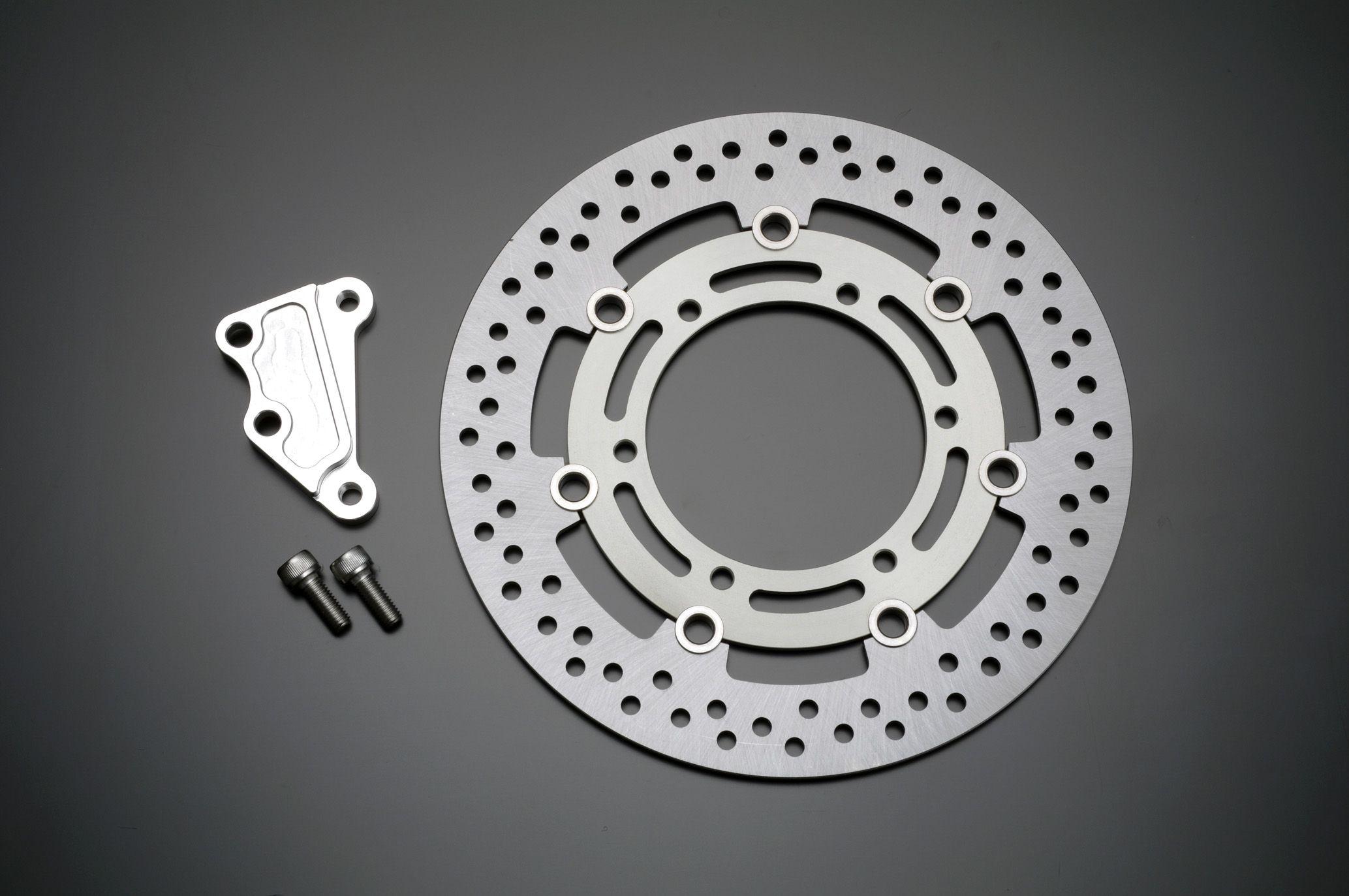 【GRONDEMENT】Φ285 煞車碟盤套件 Brembo用 (銀色) (40mm Pitch) - 「Webike-摩托百貨」