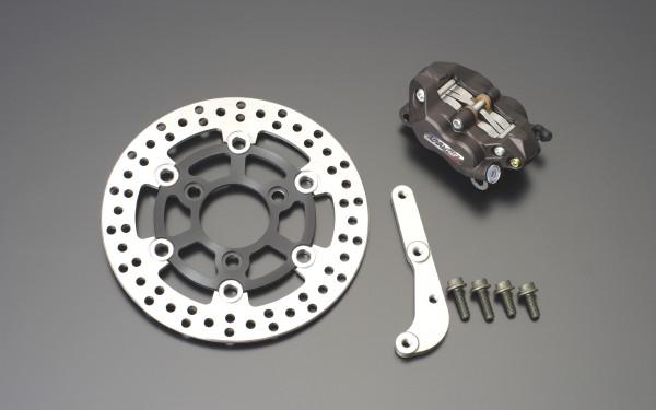 【GRONDEMENT】4POT 煞車卡鉗 前碟煞套件 (黑色) - 「Webike-摩托百貨」