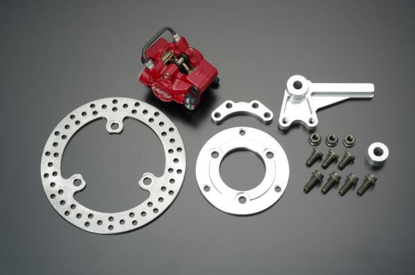 【GRONDEMENT】NISSIN 2POT 對向紅色煞車卡鉗 後碟煞套件 - 「Webike-摩托百貨」