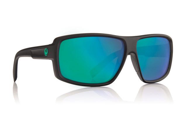 【DRAGON SUNGLASS】太陽眼鏡 DOUBLE DOS [MATTE H20] Blue ionP2/Green ionP2 - 「Webike-摩托百貨」