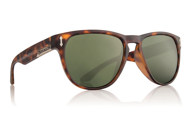 【DRAGON SUNGLASS】太陽眼鏡 MARQUIS MATTE TORT Green G15 - 「Webike-摩托百貨」