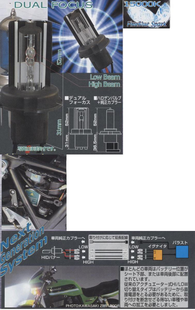 【ETHOS】Delta Edge HID 氙氣燈單元 (雙焦點型) - 「Webike-摩托百貨」