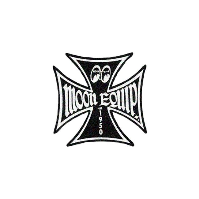 【MOON EYES】MOON EQUIP IRONCROSS徽章 - 「Webike-摩托百貨」