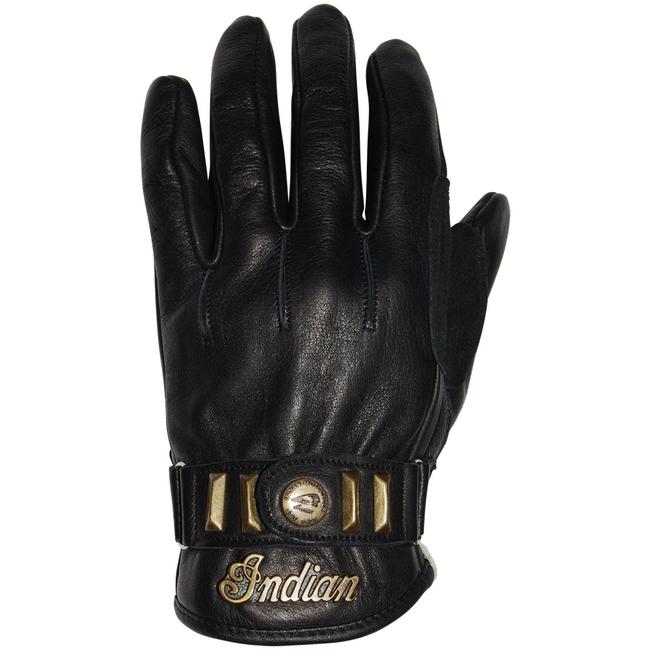 【Indian】NATIONS 皮革手套 - 「Webike-摩托百貨」