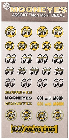 【MOON EYES】MOON ASSORT Decal 貼紙 - 「Webike-摩托百貨」