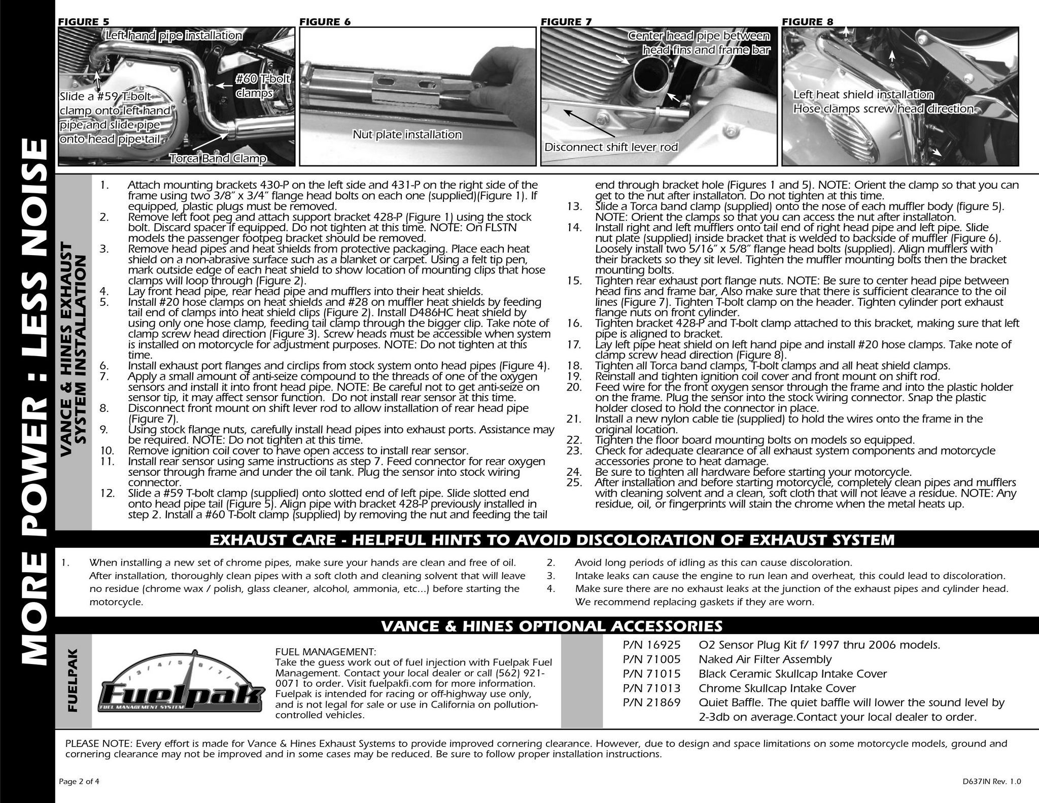 【VANCE&HINES】SOFTAIL DUALS 全段排氣管 - 「Webike-摩托百貨」