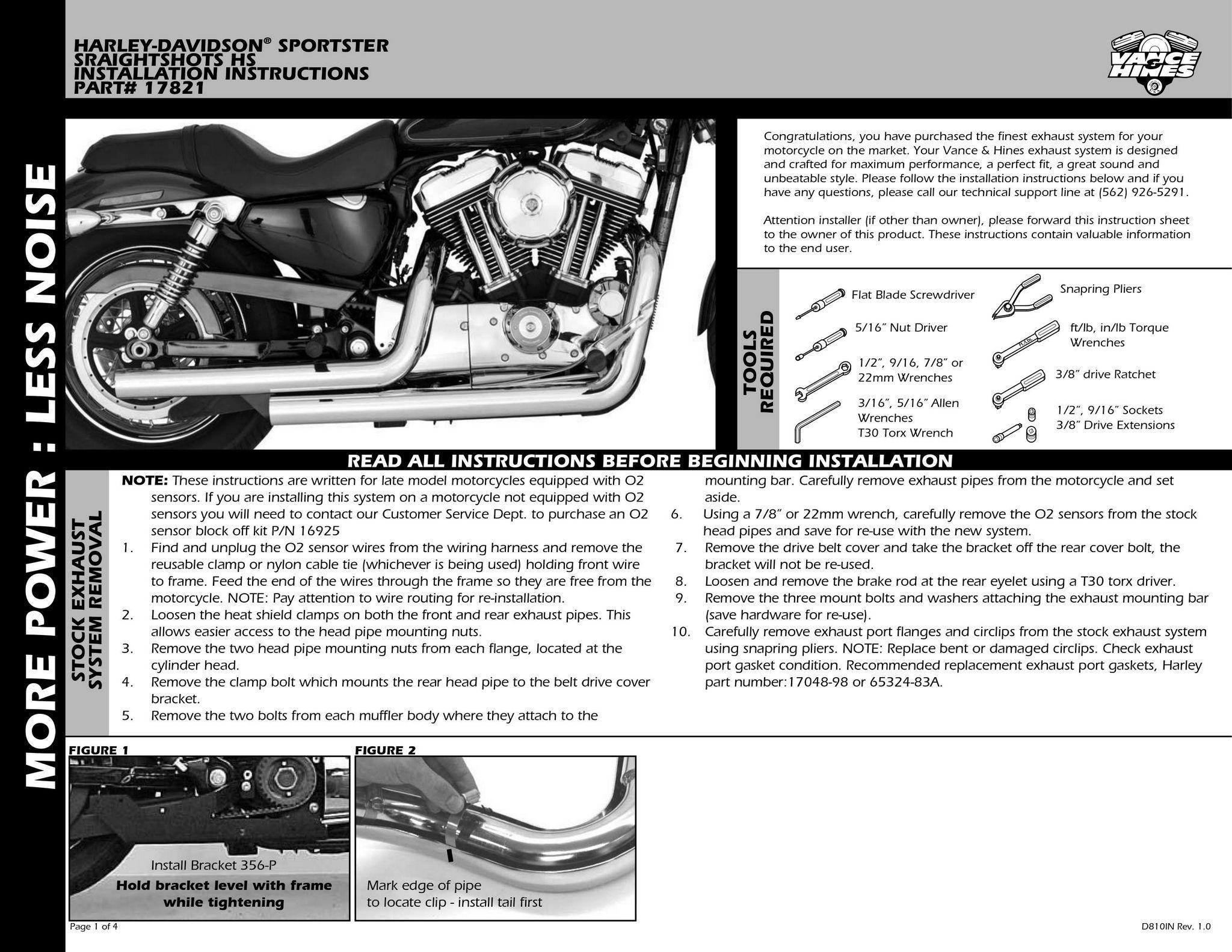 【VANCE&HINES】STRAIGHTSHOTS 全段排氣管 - 「Webike-摩托百貨」