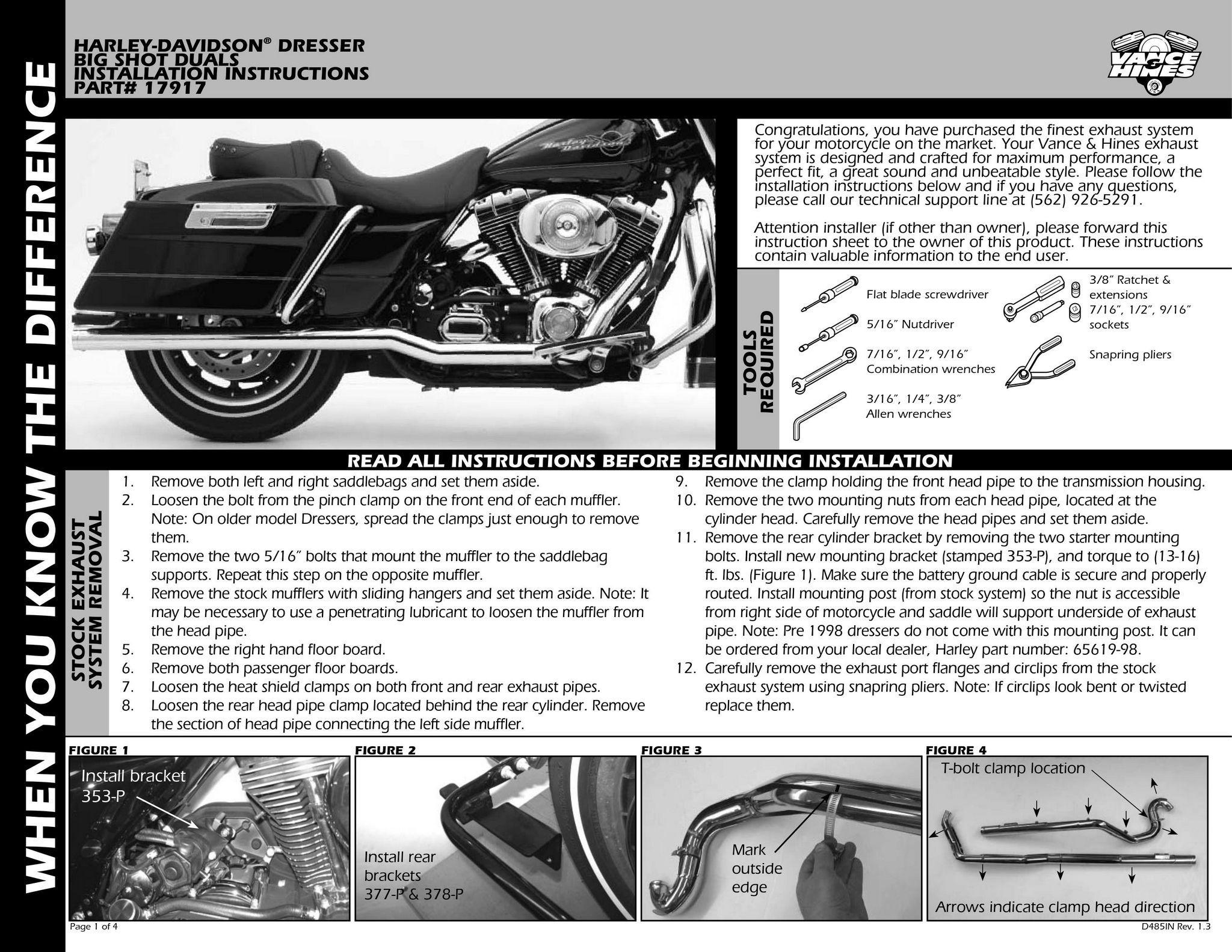 【VANCE&HINES】BIG SHOT DUALS 全段排氣管 - 「Webike-摩托百貨」
