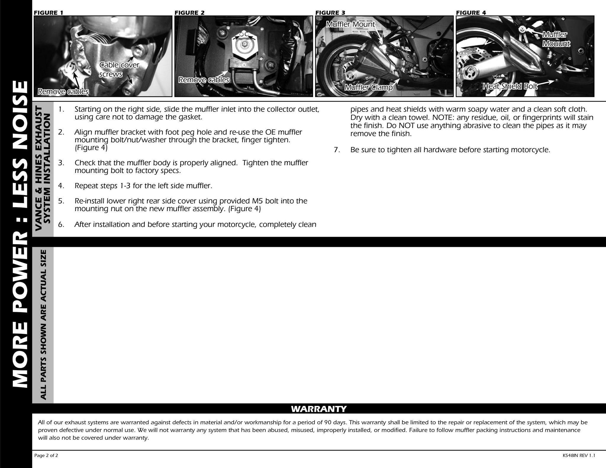 【VANCE&HINES】URBAN BRAWLER 排氣管尾段 - 「Webike-摩托百貨」