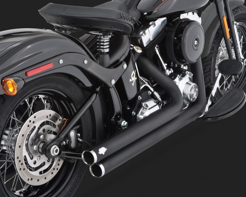 【VANCE&HINES】BIG SHOTS STAGGERED BLACK 全段排氣管 - 「Webike-摩托百貨」