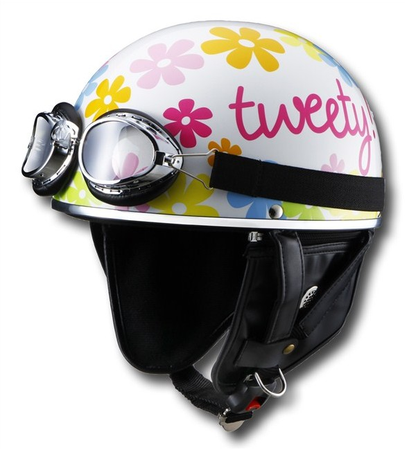 【RIDEZ】LooneyTunes Tweety JET安全帽 - 「Webike-摩托百貨」