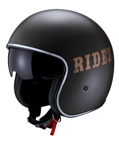 【RIDEZ】AR RJ600 JET安全帽 - 「Webike-摩托百貨」
