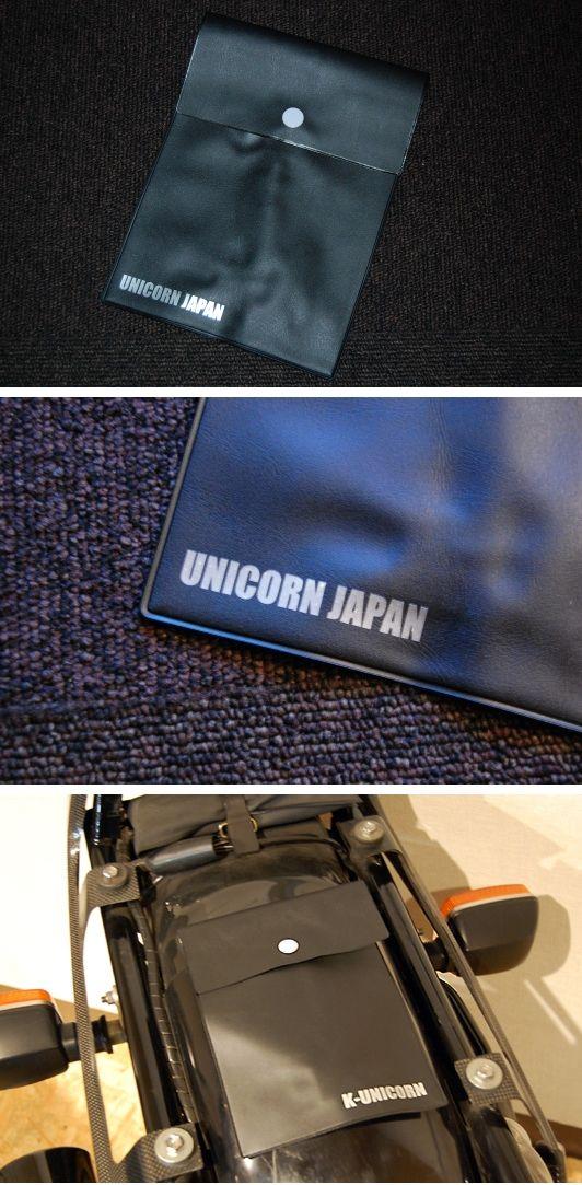 【UNICORN JAPAN】UNICORN JAPAN車檢證書收納袋 - 「Webike-摩托百貨」
