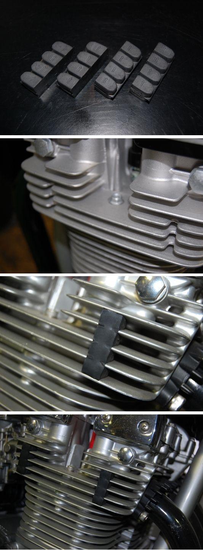【UNICORN JAPAN】汽缸用防振橡皮組 - 「Webike-摩托百貨」