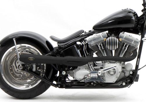 【EASYRIDERS】BOSSLEY Reventon Header 全段排氣管 (黑色) - 「Webike-摩托百貨」