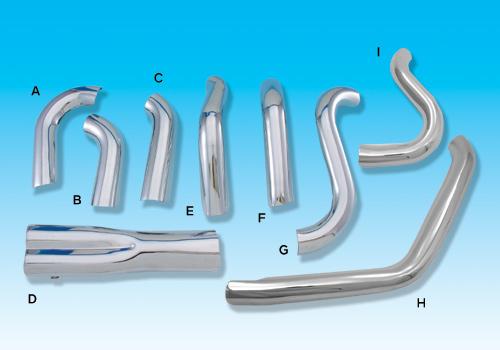 【EASYRIDERS】Thunder header 排氣管用 排氣管防燙蓋 (Type H) - 「Webike-摩托百貨」