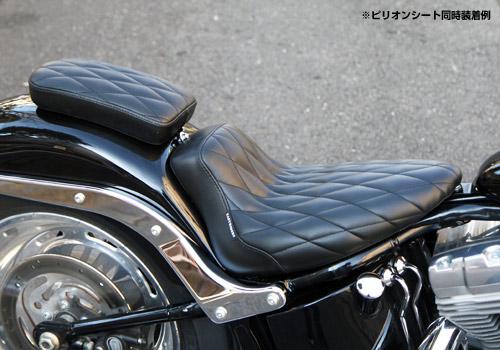 【EASYRIDERS】菱形格紋單座墊 - 「Webike-摩托百貨」
