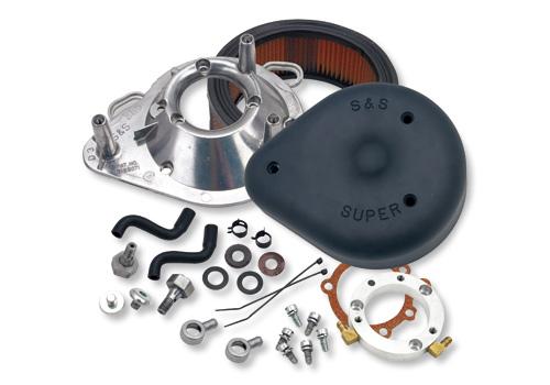 【EASYRIDERS】S&S Order-Made 空氣濾清器套件 (消光黑色) - 「Webike-摩托百貨」