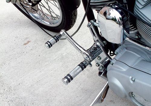 【EASYRIDERS】【Allen Ness製】Knurled 腳踏桿 - 「Webike-摩托百貨」