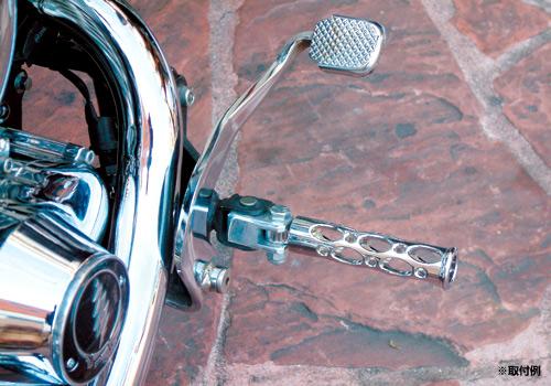 【EASYRIDERS】【Allen Ness製】Battitinis Oval 腳踏桿 - 「Webike-摩托百貨」
