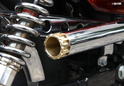 【EASYRIDERS】左輪手槍造型排氣管尾蓋 - 「Webike-摩托百貨」