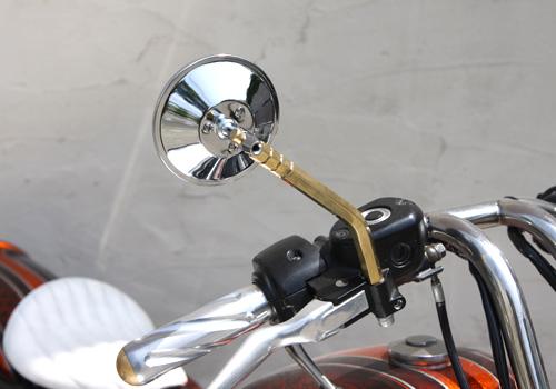 【EASYRIDERS】4吋圓形後視鏡支架【六角】 - 「Webike-摩托百貨」