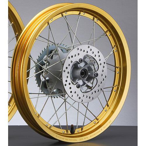 Rear Wheel Assembly (XT250)