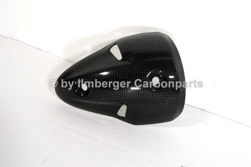 【ILMBERGER】碳纖維排氣管防燙蓋 (左) - 「Webike-摩托百貨」