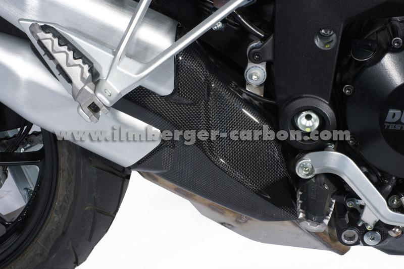 【ILMBERGER】碳纖維排氣管防燙蓋 - 「Webike-摩托百貨」