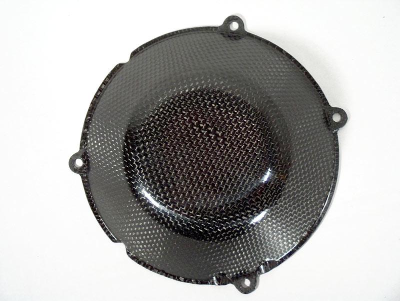 【ILMBERGER】DUCATI用 碳纖維離合器外蓋 (封閉型) - 「Webike-摩托百貨」
