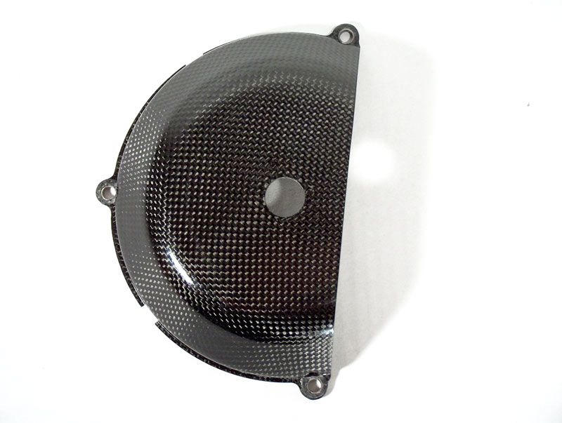 【ILMBERGER】DUCATI用 碳纖維離合器外蓋 (開口型) - 「Webike-摩托百貨」