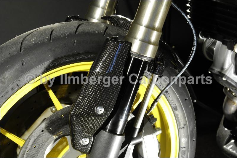 【ILMBERGER】碳纖維前叉護蓋 (左側) - 「Webike-摩托百貨」