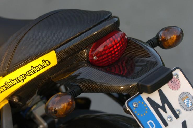 【ILMBERGER】碳纖維牌照架 (短車尾) - 「Webike-摩托百貨」