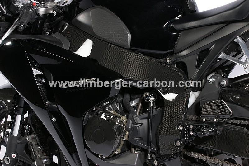 【ILMBERGER】碳纖維車架護蓋 (左側) - 「Webike-摩托百貨」