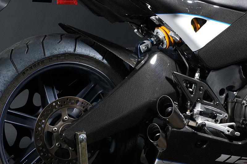 【ILMBERGER】碳纖維後搖臂外蓋 (右側) - 「Webike-摩托百貨」