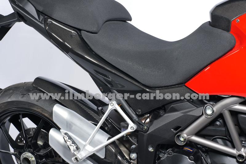 【ILMBERGER】碳纖維車尾整流罩 (左) - 「Webike-摩托百貨」